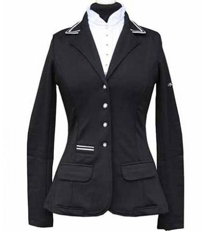 Spooks Turnierjacket Stripes figurbetont SP245,